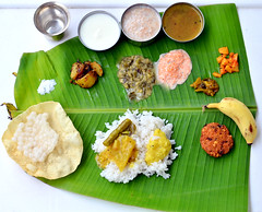 South Indian Full meals with serving order