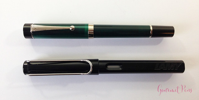 Review Visconti LE Classic Green Fountain Pen @CouronneDuComte (4)