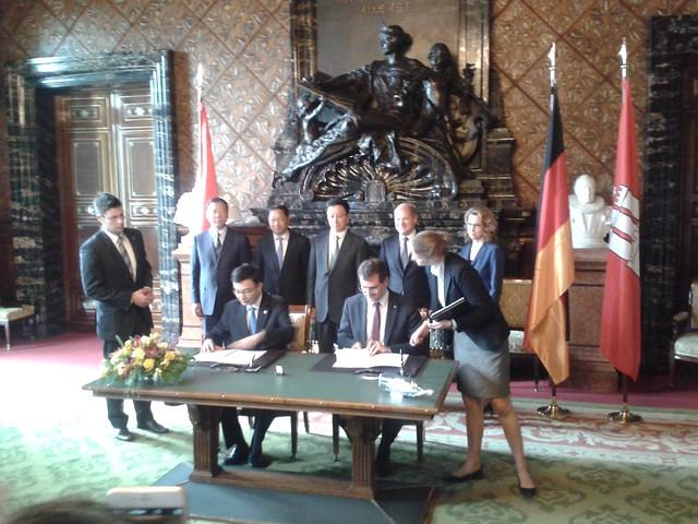 Memorandum Hamburg-Shanghai 2015