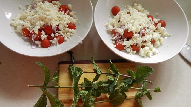 Tomato Mint Salad 6