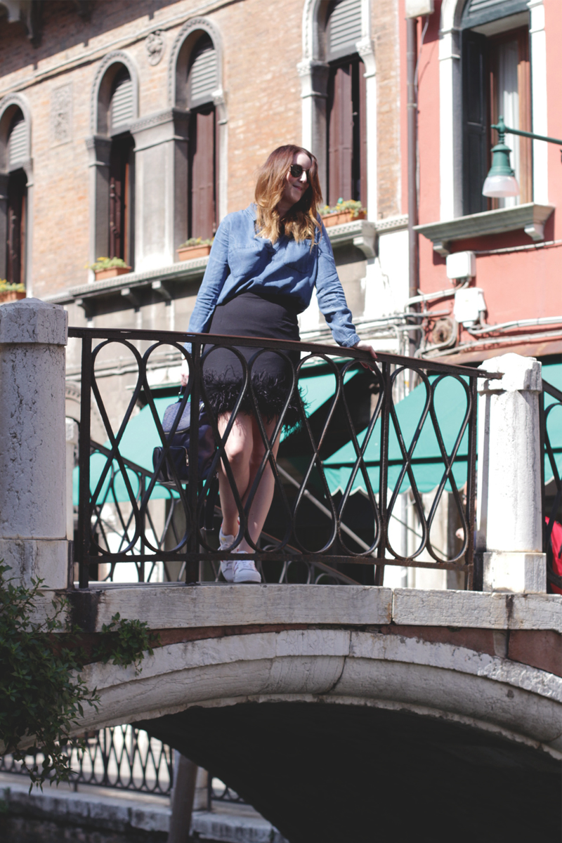 An outfit post in Venice, Bumpkin Betty Style Blog