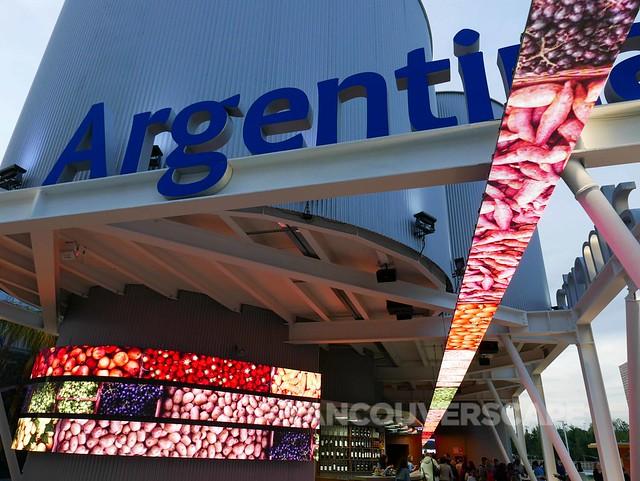 Milan Expo: Argentina pavilion