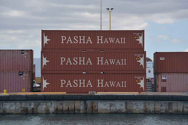 Pasha Hawaii containers