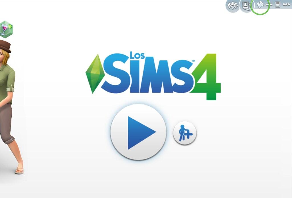 Cargar partida en Los Sims 4
