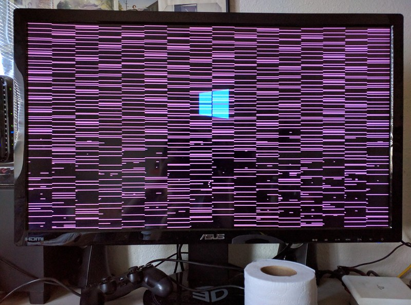 Screen tearing when booting PC after blackout | Tom's Hardware Forum