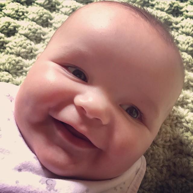 Chunk!!! #megancarty #babyhood #DMbabies #fourmonths #baby #mamalife #kidstagram #kidsofinstagram
