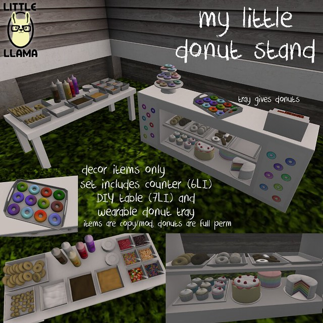 My Little Donut Stand