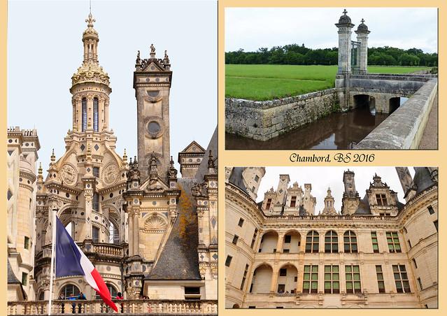 Schlösser der Loire - Château de Chambord - Franz I. - Renaissance-Jagdschloss der Superlative - Foto: Brigitte Stolle 2016