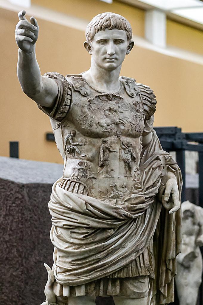 Roma augusto di prima porta il celebre ritratto dell for Augusto roma