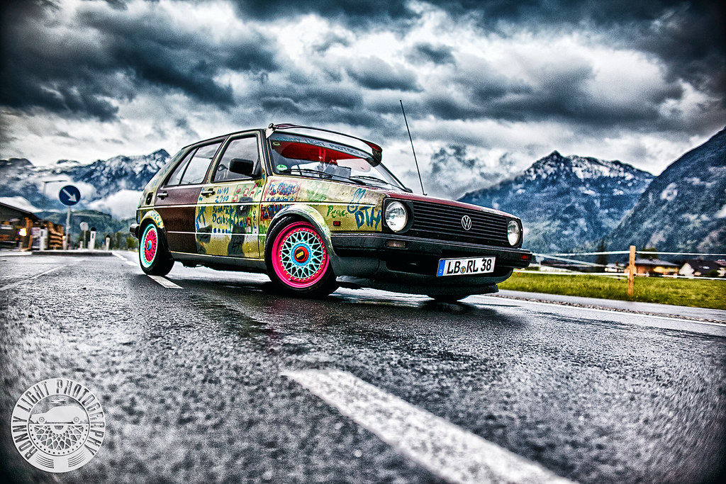 Vw Golf Mk2 Cl Hoodride Ratte Bbs Rm 012 Automotive Car Ph