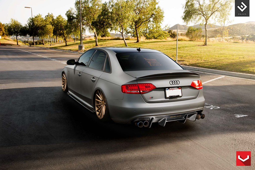 Audi S4 Vfs2 Bronze 169 Vossen Wheels 20151004 Flickr