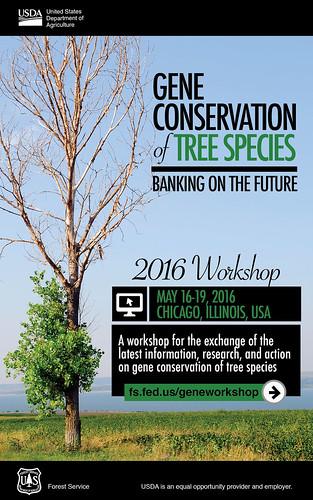 Gene Conservation poster