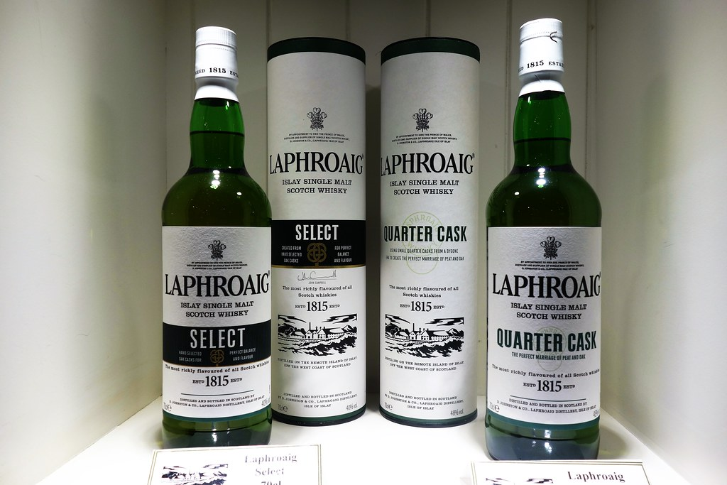 Laphroaig Single Malt, Islay, Scotland
