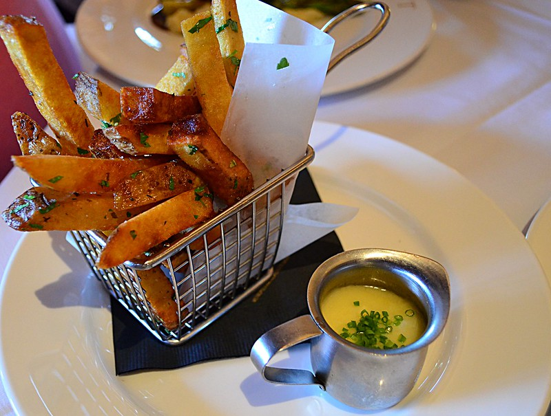 Fries with Duck Fat Hollandaise