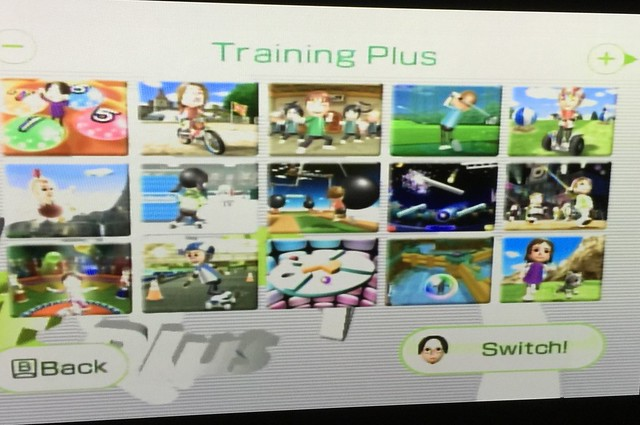 Wii Fit Plus... New games