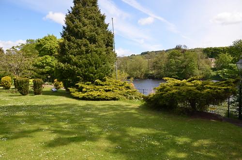 North Tyne River Chollerford May 15 2