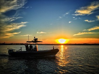 Maryland Natural Resources Police Patrol Boat