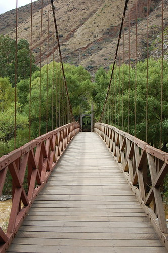 Bridge near Kotosh, Huánuco, Peru