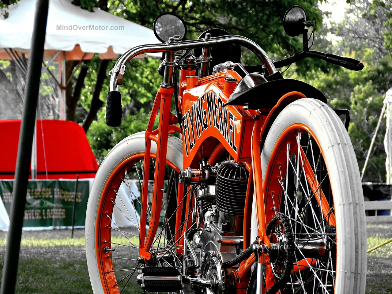 Greenwich Flying Merkel Motorcycle
