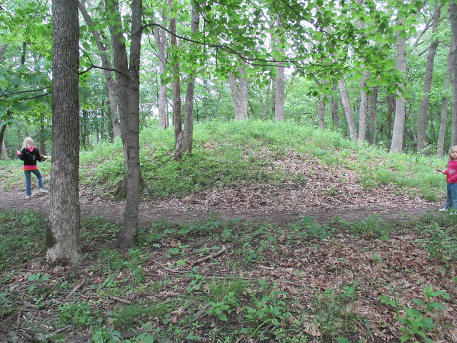 Native American ceremonial mound