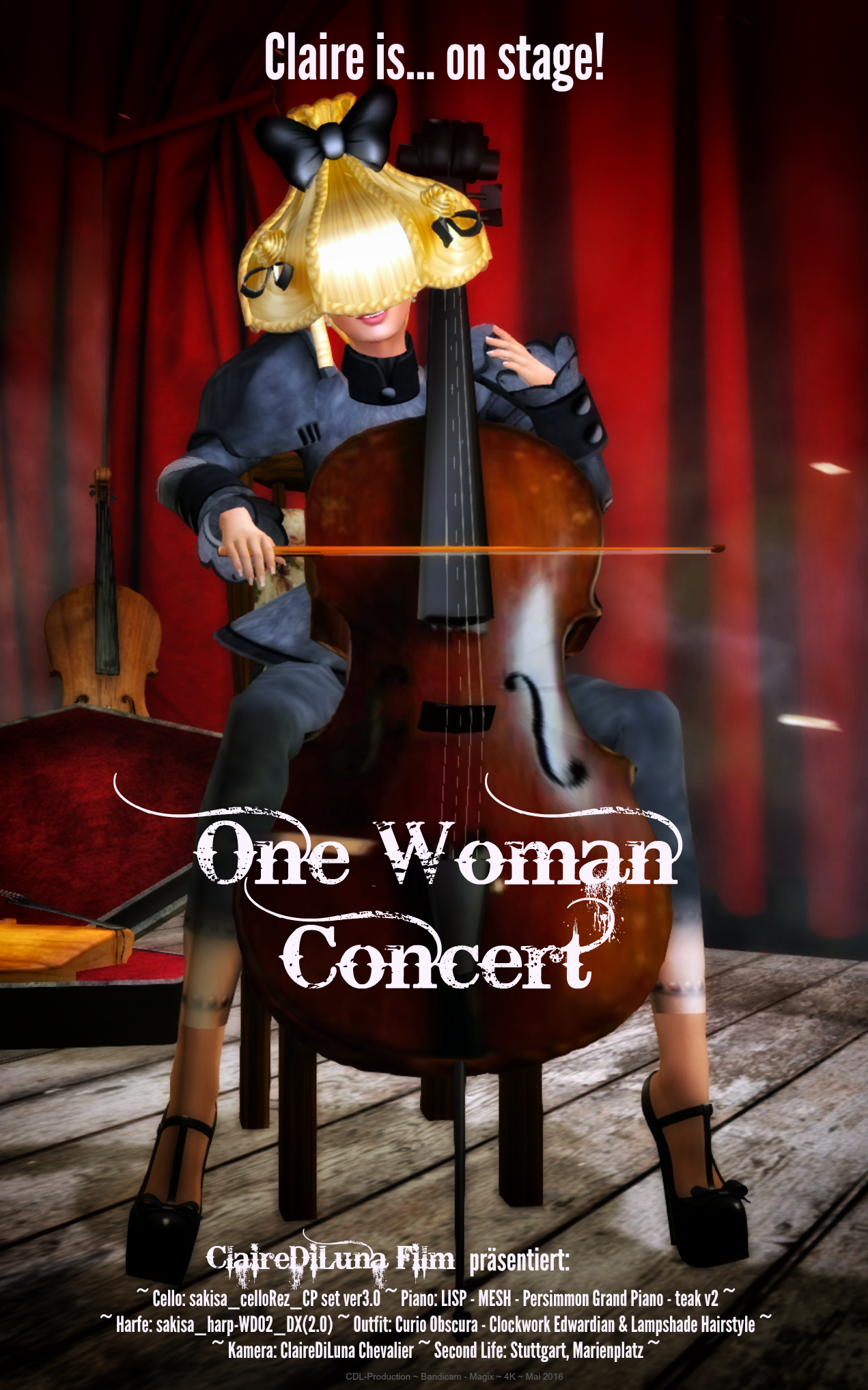 One Woman Concert - Movieposter