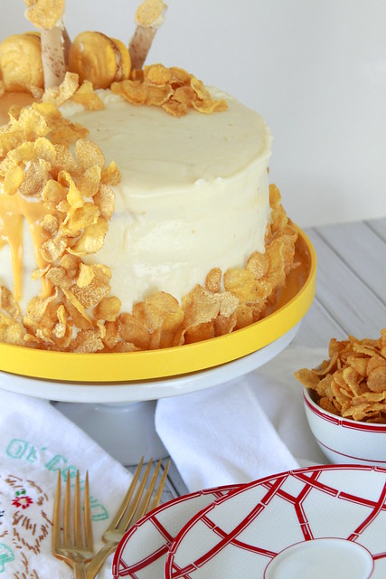 Good Morning Cereal Cake