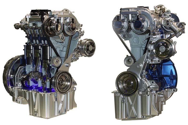 Động cơ Ford EcoBoost 1.0lit 3 xi lanh tăng áp turbo