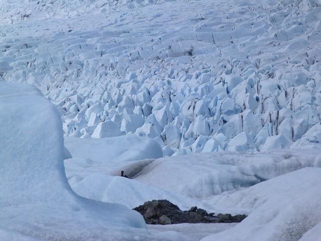 Glaciar en el sur de Islandia