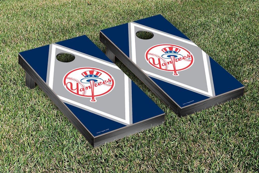 New York Yankees Diamond Version Cornhole Board