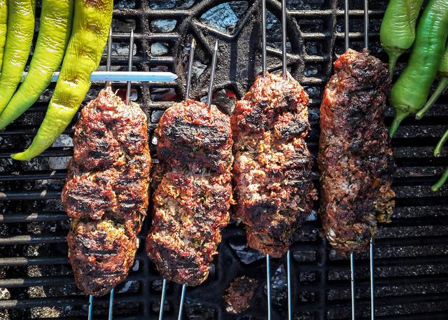Kräuterige Lamm Kebabs
