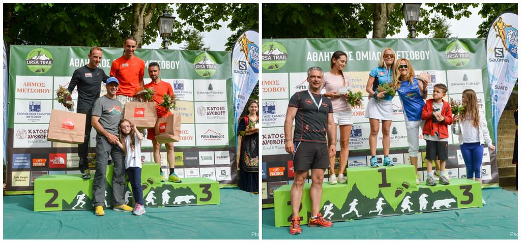 Οι νικητές και οι νικήτριες του 'Χνάρια της Αρκούδας'   Photo (c): GOExperience / Babis Giritziotis