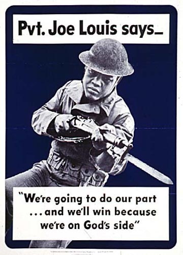 World War II Poster - Joe Louis