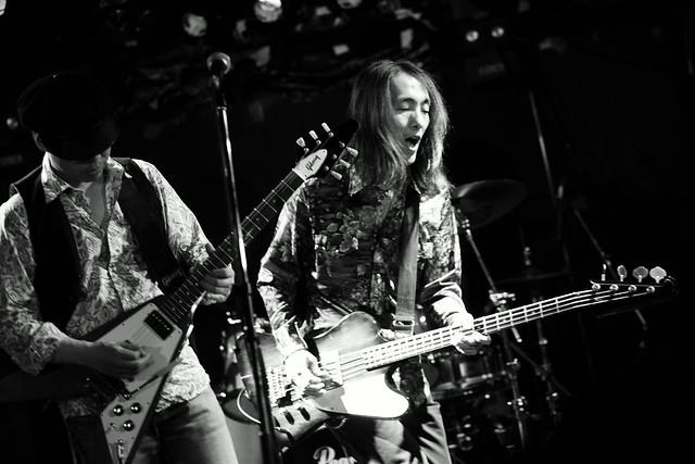 Wishbone Mash live at Outbreak, Tokyo, 23 May 2015. 068