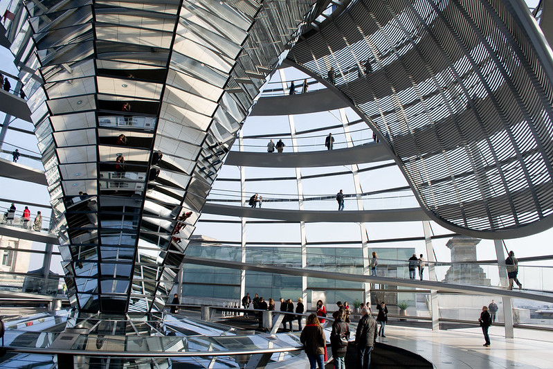 Inside the Reichstag - 7 Free Things To Do in Berlin | packmeto.com