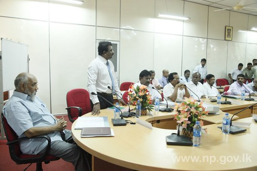 Discussion on Desalination Project in Jaffna