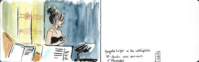 Magali Léger en concert