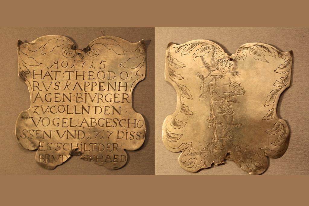 Koenigsschild Flittard von kappenhagen theodorus aus dem Jahr 1715