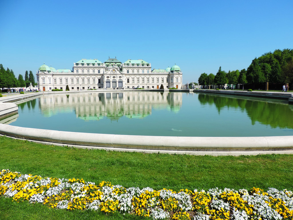 Festival Of Flowers: Belvedere Palace, Vienna