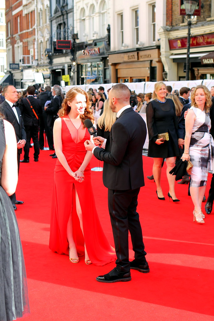 BAFTA Red Carpet 2015 (15)
