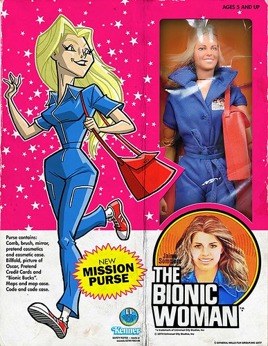 Minion Factory The Bionic Woman