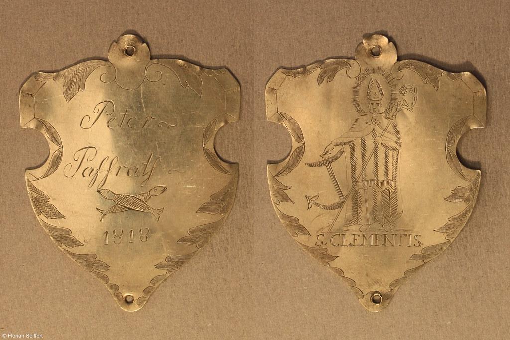 Koenigsschild Flittard von paffrath peter aus dem Jahr 1818