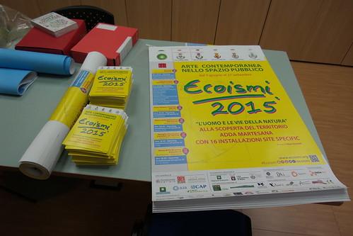 Pronti i manifesti e le cartoline di #Ecoismi2015