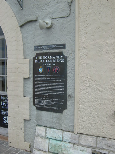 D-Day plaque