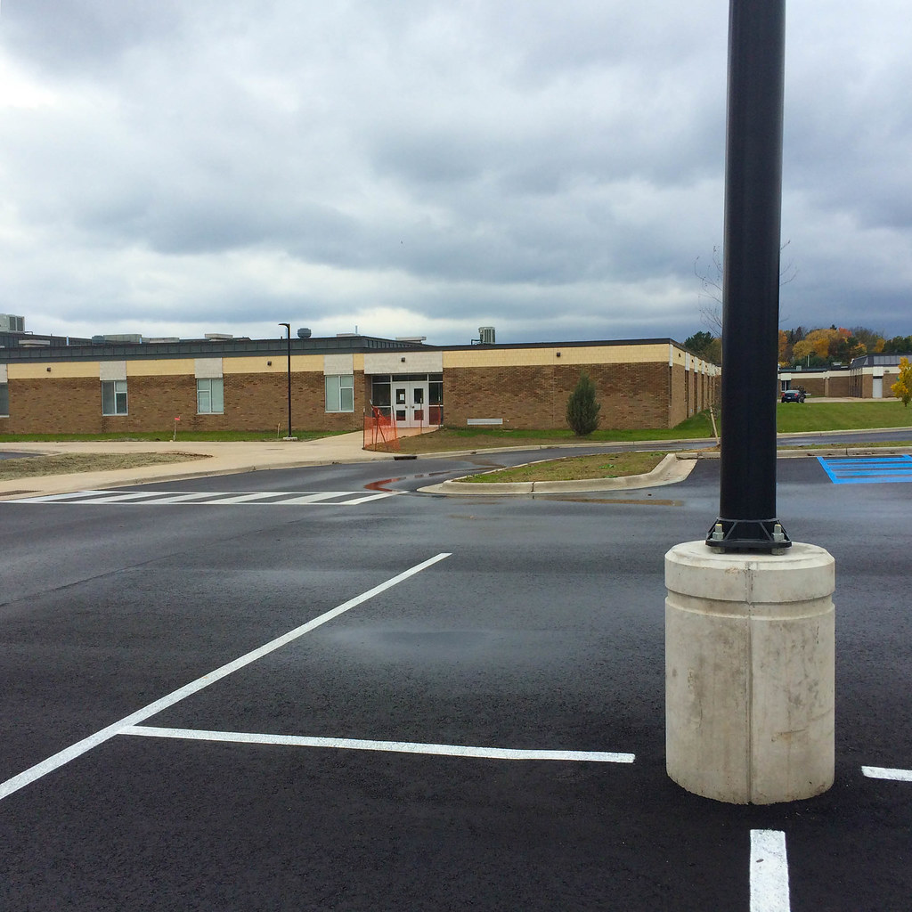 Precast Light Pole Bases Install Efficiently For New