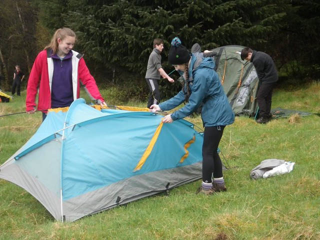 Bronze DofE Training 2015