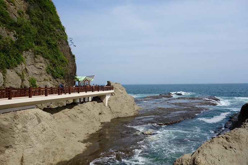 江の島、第一岩屋と第二岩屋の通路
