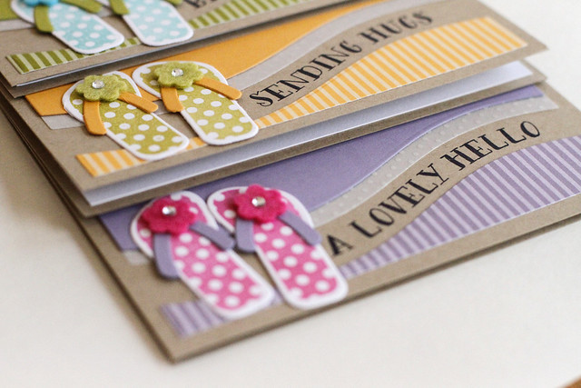 Flip Flop Set Vellum Edge