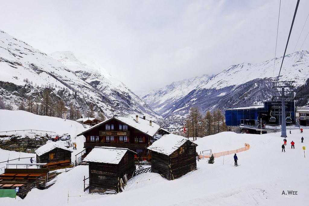 Base of Matterhorn Express