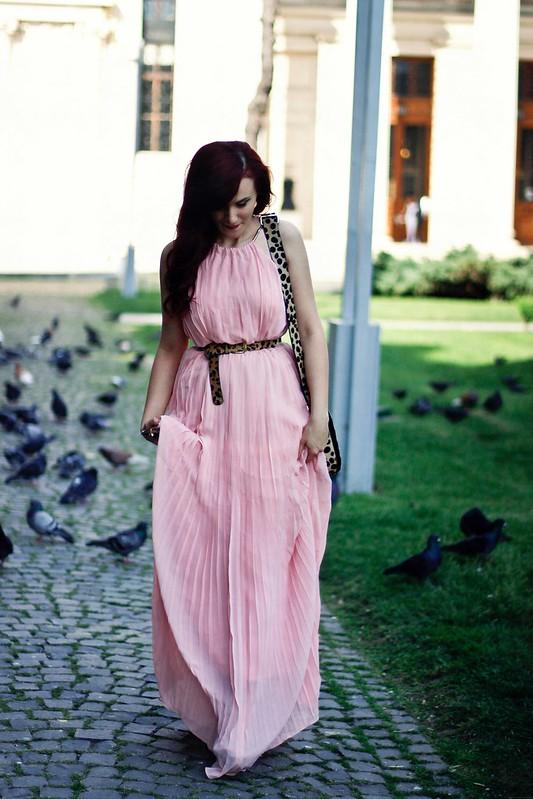 pink maxi dress5