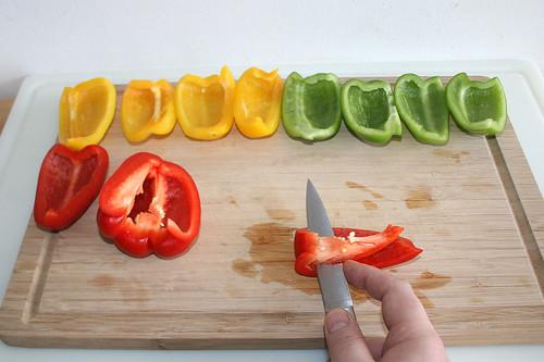 14 - Paprika entkernen / Decore bell pepper